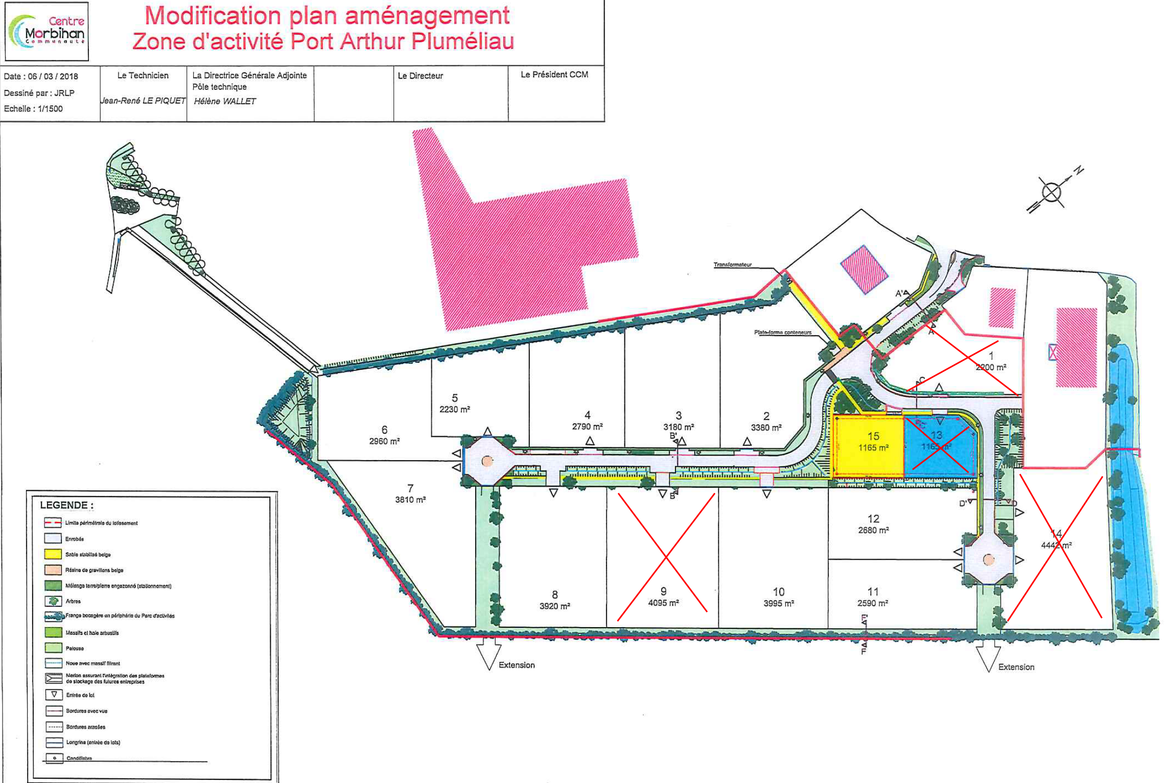 Port Arthur 2 - terrains disponibles