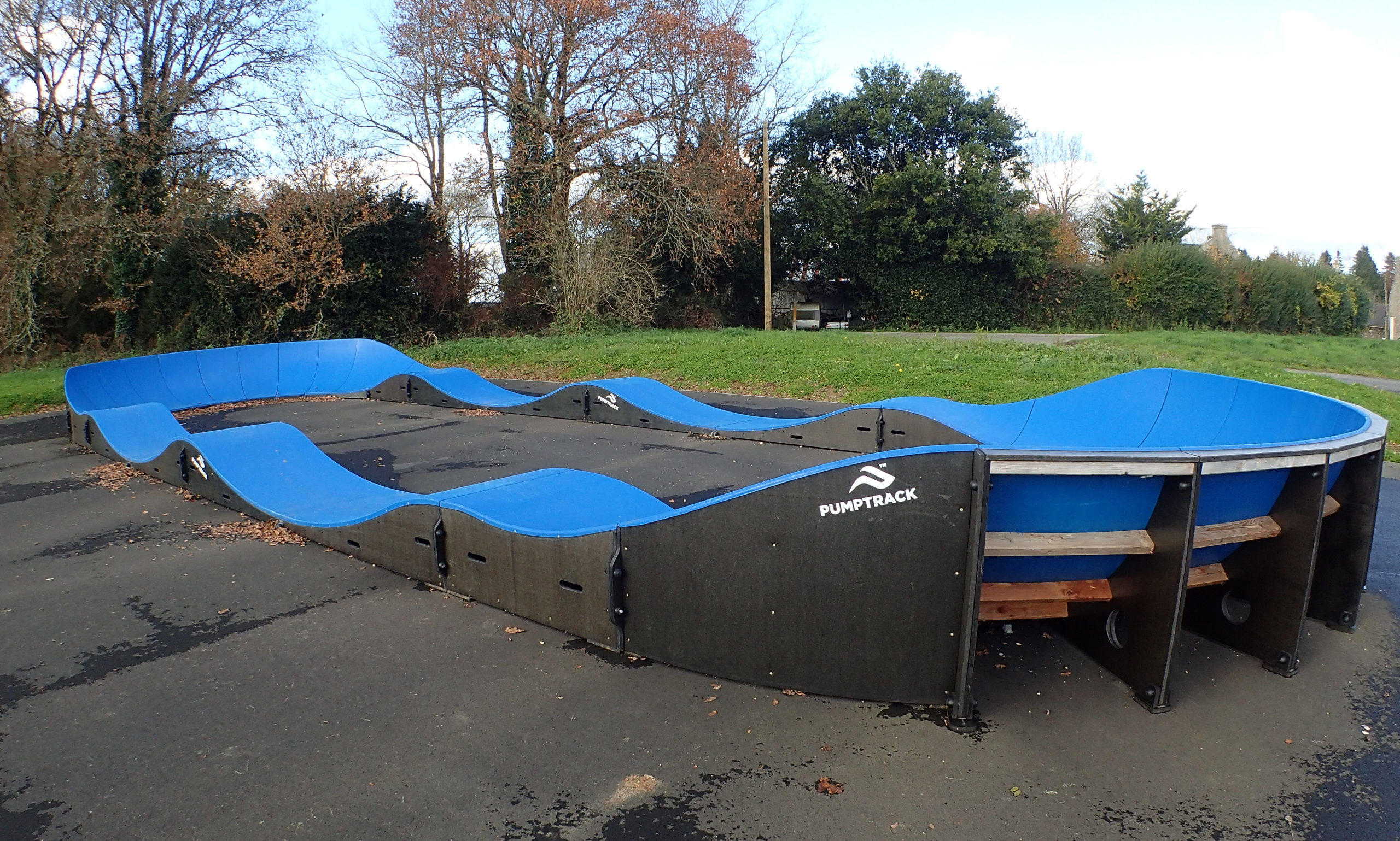 Le pumptrack de Bieuzy
