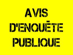 Avis d'enquête publique Base de loisirs Saint Nicolas des Eaux
