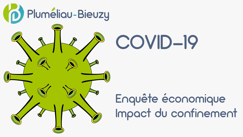Covid-19 – Enquête économique – Pluméliau-Bieuzy