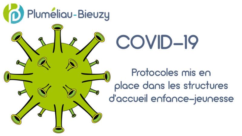 COVID-19 : Protocoles d'accueil mis en place dans les structures enfance-jeunesse