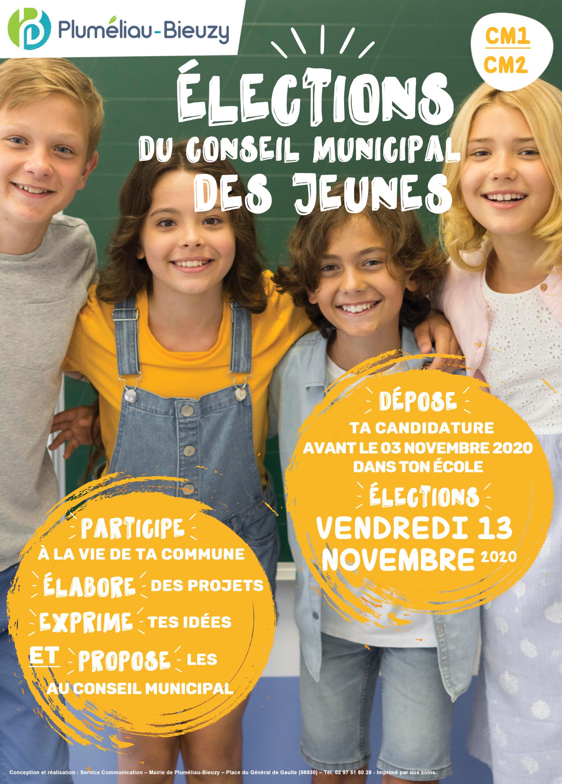 Élections Conseil Municipal des Jeunes