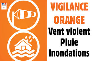 Tempête Alex – Vigilance orange