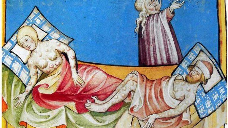 Epidémie de peste noire dans les années 1630