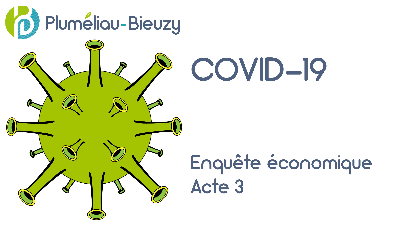 Covid-19 Enquête économique Acte 3