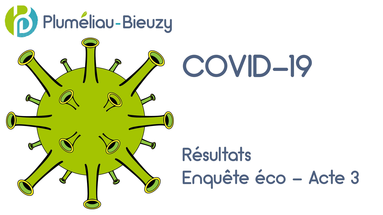 COVID-19 Résultats enquête éco Acte 3