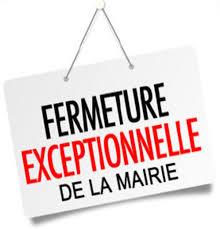 Fermeture exceptionnelle de la mairie annexe de Bieuzy
