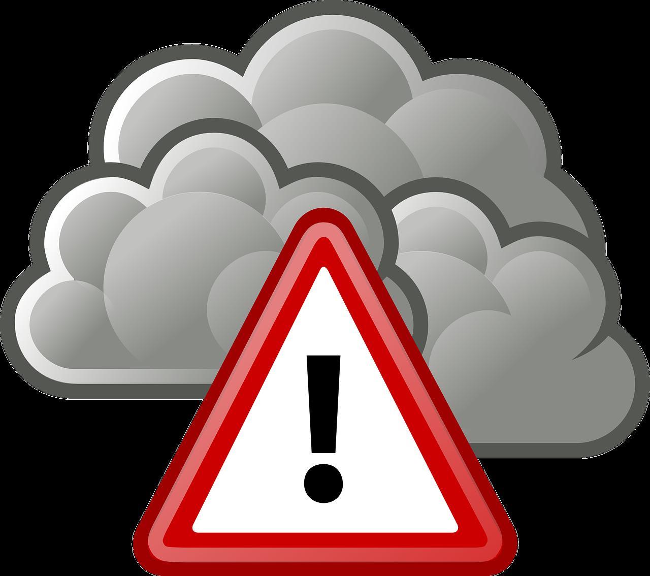 vigilance JAUNE en raison d'un risque de vent violent