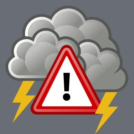 Alerte orages violents